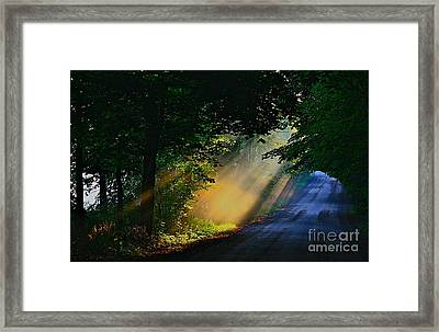 The Mourning Sun Framed Print by Robert Pearson