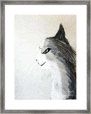 The Mouser Framed Print