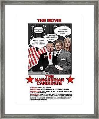 The Movie Framed Print