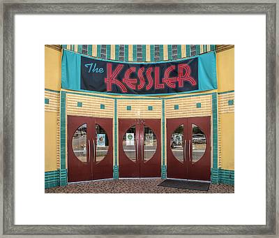The Movie Theater Framed Print
