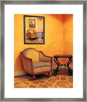 The Multiplicity Corner Framed Print
