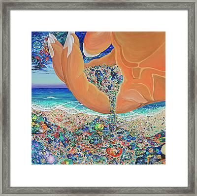 The Multiverses Framed Print