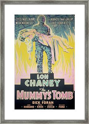 The Mummys Tomb, Lon Chaney, Jr., Elyse Framed Print