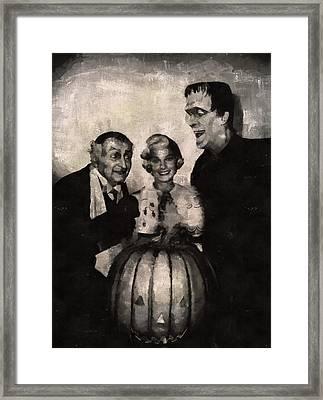The Munsters Framed Print by Mary Bassett