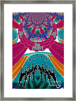 The Muny Birthday Celebration 5 Framed Print by Genevieve Esson