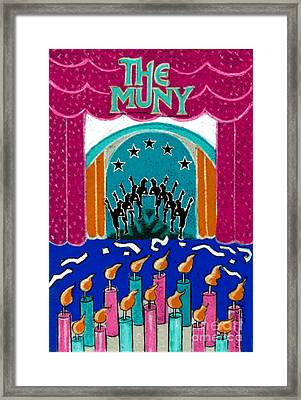 The Muny Birthday Celebration Framed Print by Genevieve Esson