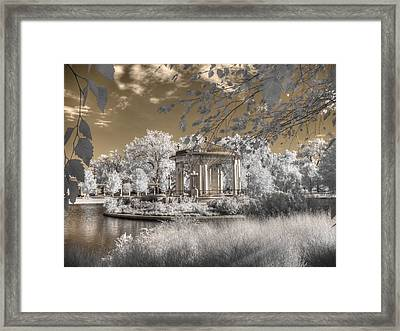 The Muny Framed Print by Jane Linders
