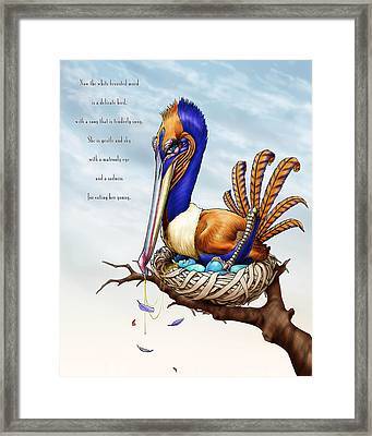 The Murd Framed Print by Nicholas Bockelman