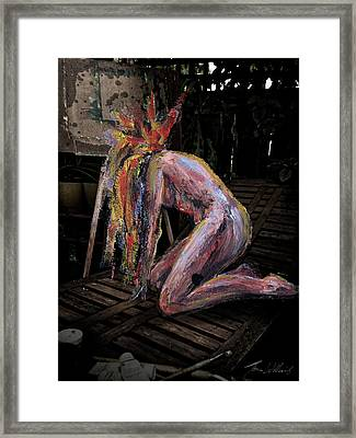 The Muse - 1 Framed Print