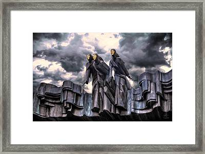 The Muses Framed Print by Pennie  McCracken