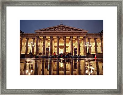Framed Print featuring the photograph The Museum Is Now Closed by Quality HDR Photography