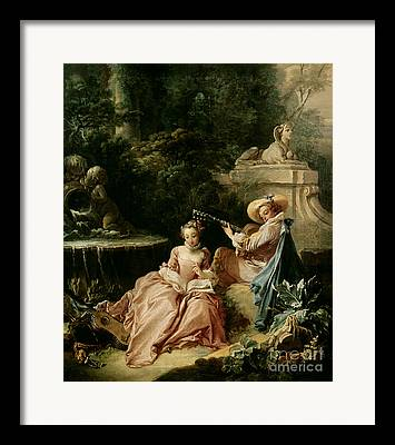 18th Century Paintings Framed Prints