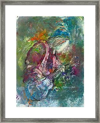 The Music Maker Framed Print