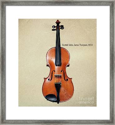 The Music Of 1853 Framed Print by Steven Digman