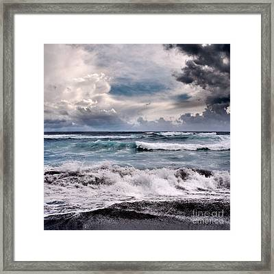 The Music Of Light Framed Print