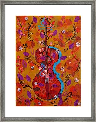 The Music Of Nature Framed Print by Teodora Totorean