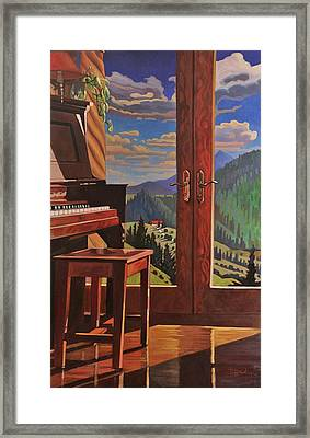 The Music Room Framed Print by Art West