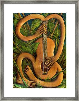 The Music Within Framed Print
