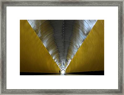 The Musician Framed Print by Klaus Lenzen