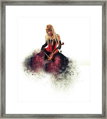 The Musician Framed Print by Nichola Denny