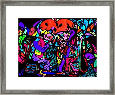 The Musicians Framed Print by YoMamaBird Rhonda