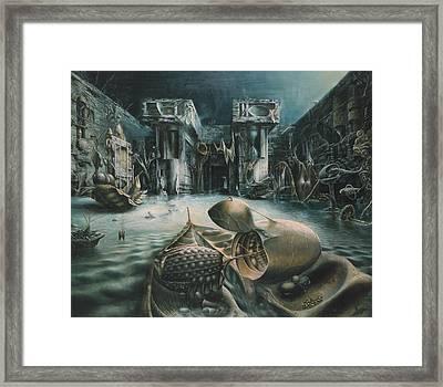 The Mystery Framed Print by De Es Schwertberger