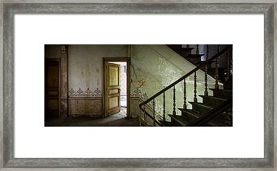The Mystery Room - Urban Decay Framed Print by Dirk Ercken