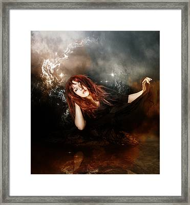 The Mystic Framed Print by Mary Hood