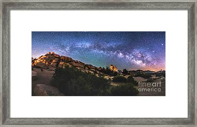 The Mystic Valley Framed Print