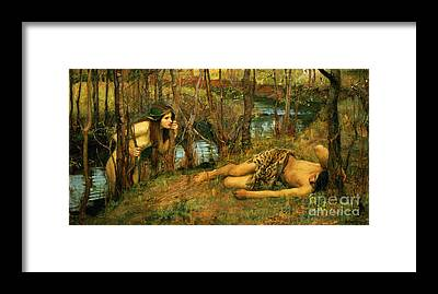 Naiad Framed Prints