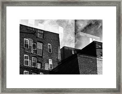 The Naked City Framed Print by Geoffrey Coelho