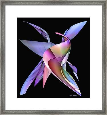 The Napkin Dance Framed Print