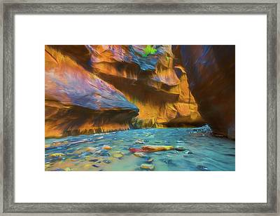 The Narrows Framed Print