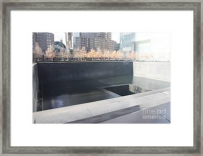 The National September 11 Memorial Framed Print by John Telfer
