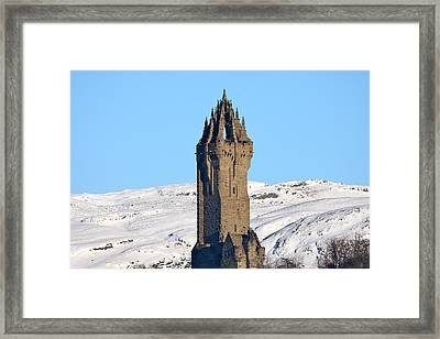 The National Wallace Monument Framed Print by RKAB Works