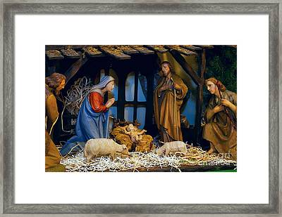 The Nativity Framed Print