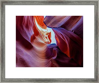 The Natural Sculpture 13 Framed Print by Jonathan Nguyen