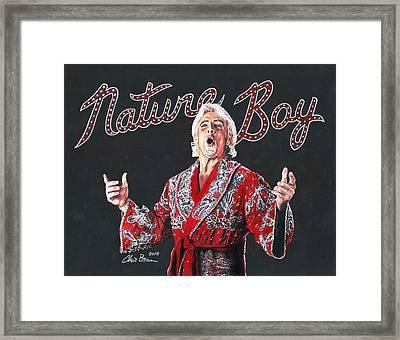 The Nature Boy, Ric Flair Framed Print