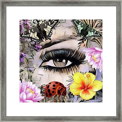 The Nature Girl Framed Print