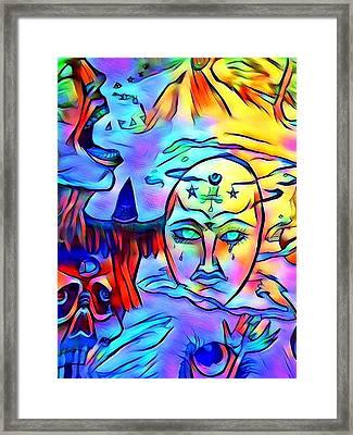 The Nature Of Paganism Framed Print by Joshua Massenburg