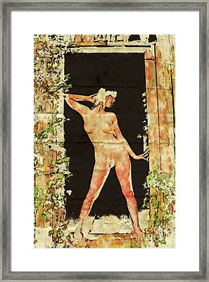 The Naturist By Mary Bassett Framed Print