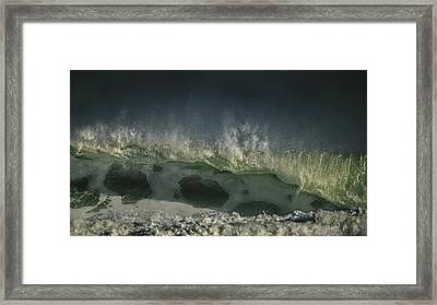 The Nauset Wave Framed Print by Dapixara Art