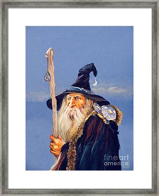 The Navigator Framed Print by J W Baker