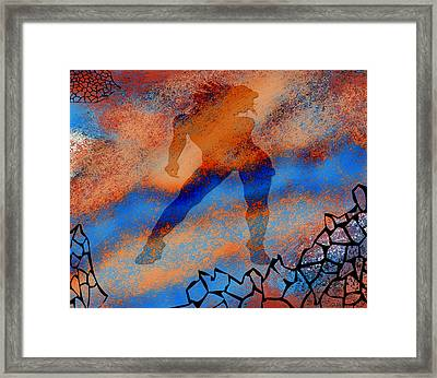 The Nebulous Future II Framed Print