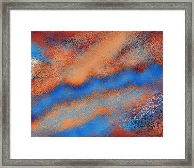 The Nebulous Future Framed Print