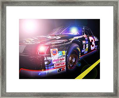 The Need For Speed 3 Framed Print by Kenneth Krolikowski