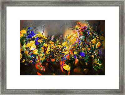 The Neglected Flower Bed Framed Print