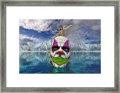 The Negotiator  Framed Print