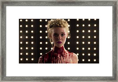 The Neon Demon Elle Fanning Framed Print by F S