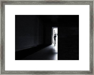 The Never Ending Light Framed Print